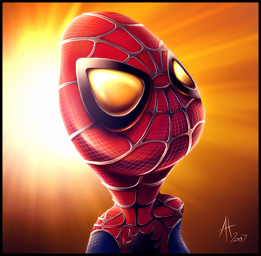 Cute_Spiderman_by_drewbrand