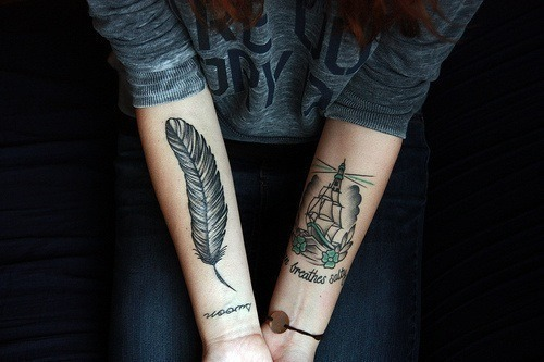 tattoo feather_5
