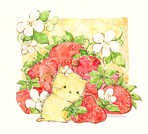 strawberries_by_melonkitten-d51i4as