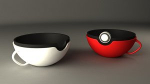 Pokeball cups