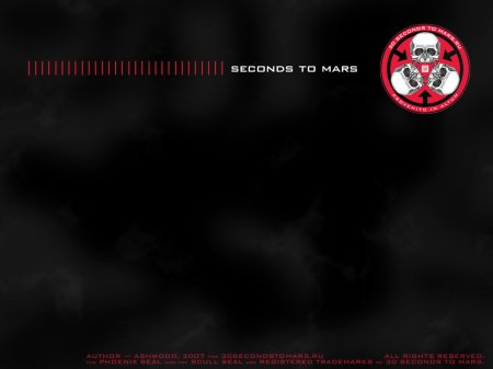 Обои 30 seconds to Mars